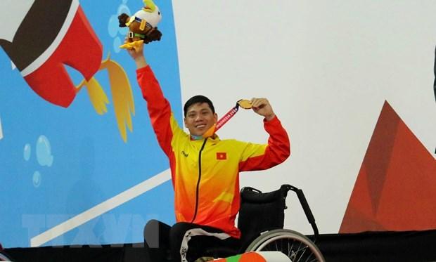 Asian Para Games 2018: Khep lai dai hoi, doan Viet Nam vuot chi tieu hinh anh 1