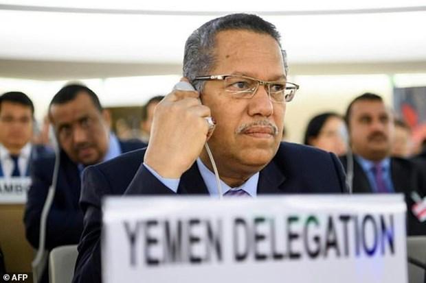 Tong thong Yemen Hadi cach chuc Thu tuong Ahmed bin Dagher hinh anh 1