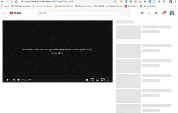 YouTube khoi phuc truy cap nhung van chua ro nguyen nhan sap mang hinh anh 2