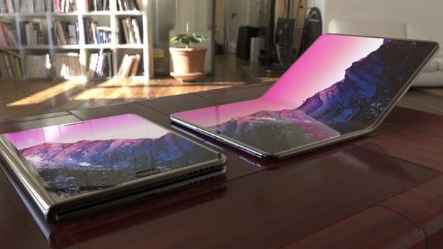 Samsung dang phat trien man hinh may tinh xach tay co the gap lai hinh anh 1