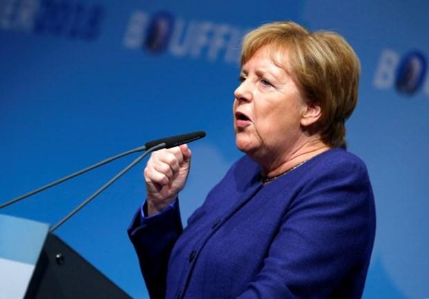 Thu tuong Duc Merkel khong tai tranh cu chuc Chu tich CDU? hinh anh 1