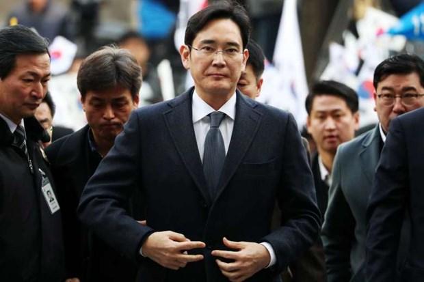 Lanh dao tap doan Samsung Lee Jae-yong den Viet Nam hinh anh 1