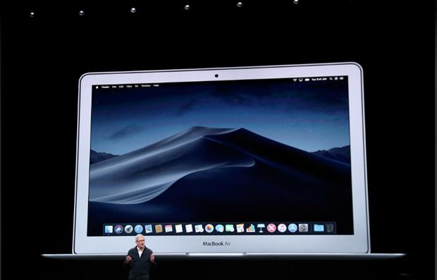 Apple ra mat bo doi may tinh xach tay MacBook Air va Mac Mini moi hinh anh 1