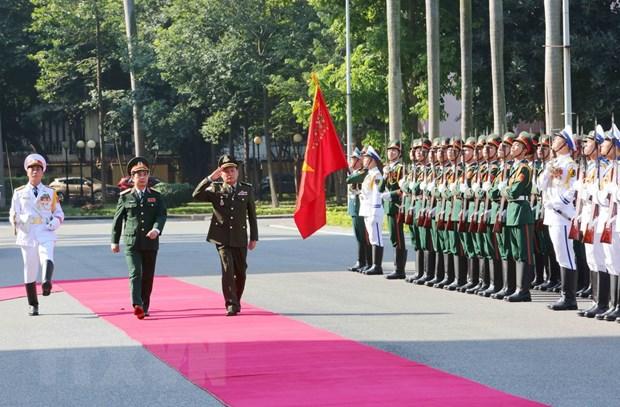 Tong Tu lenh Quan doi Campuchia Vong Pisen tham chinh thuc Viet Nam hinh anh 1