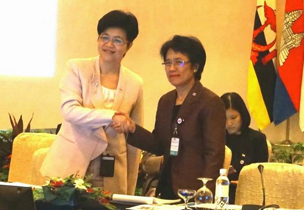 Thai Lan tiep nhan chuc Chu tich Hoi nghi ASEAN ve cac van de cong vu hinh anh 1