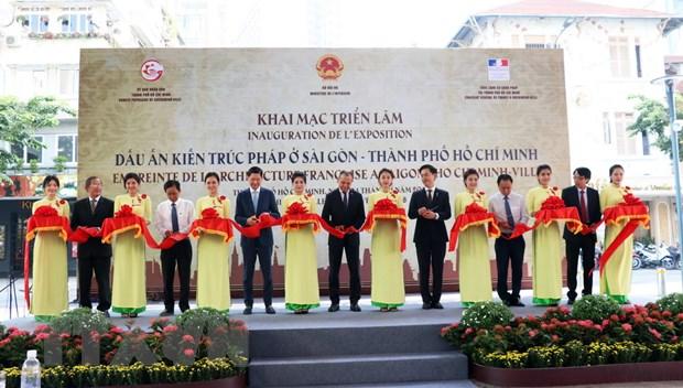 """Trien lam """"Dau an kien truc Phap o Sai Gon-Thanh pho Ho Chi Minh"""