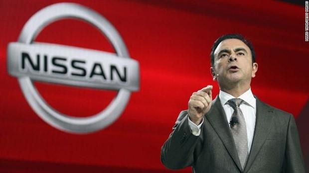 Nissan xac nhan hop hoi dong quan tri de sa thai Chu tich Carlos Ghosn hinh anh 1