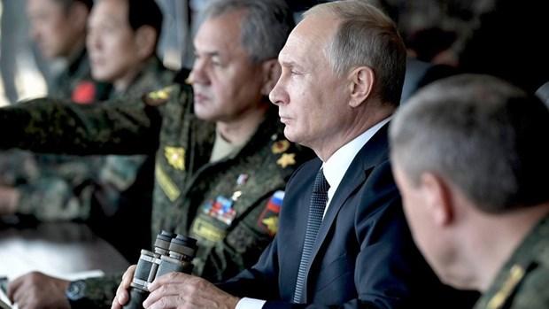 Tong thong Nga Putin neu uu tien phat trien luc luong vu trang hinh anh 1