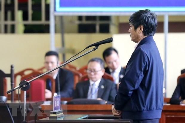 Vu an danh bac nghin ty: Nguyen Thanh Hoa chap nhan noi dung luan toi hinh anh 1