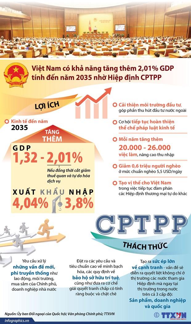 Ban hanh nghi quyet phe chuan CPTPP cung cac van kien lien quan hinh anh 2