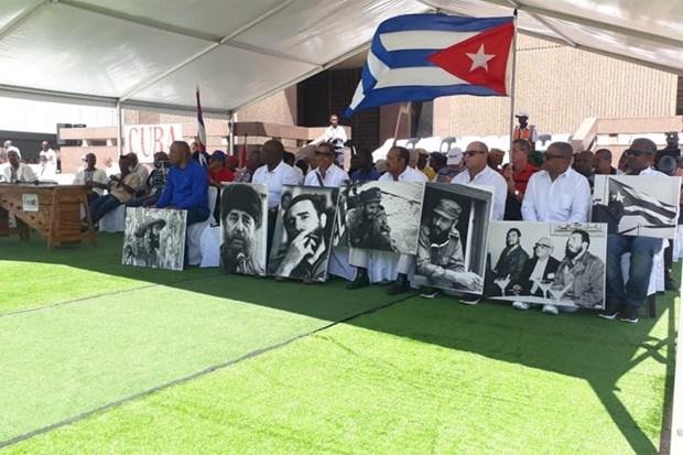 Cuba tuong nho ngay mat cua lanh tu cach mang Fidel Castro hinh anh 1