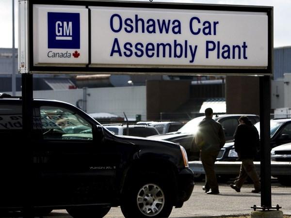 Ro tin don General Motors sap dong cua mot nha may tai Canada hinh anh 1