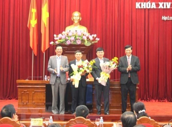 Quang Ninh bau chuc danh Pho Bi thu Tinh uy nhiem ky 2015-2020 hinh anh 1