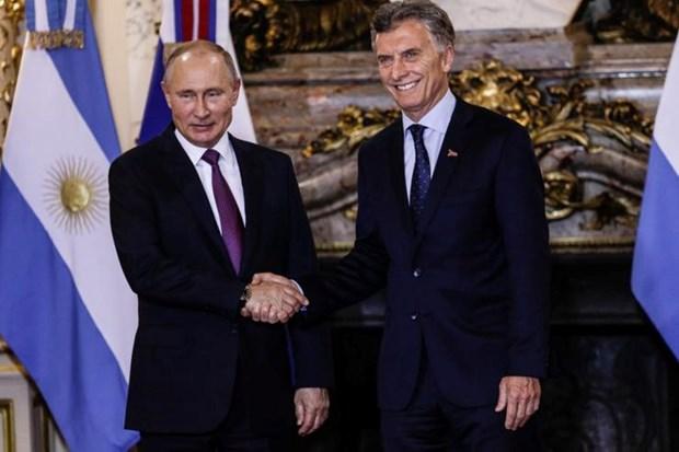 Argentina thao luan voi Nga va Duc sau Hoi nghi thuong dinh G20 hinh anh 1