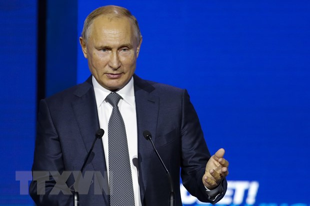 Tong thong Nga Putin lam ro lap truong ve cuoc khung hoang Ukraine hinh anh 1