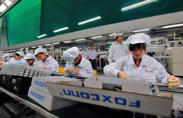 Reuters: Hang Foxconn co the mo nha may lap rap iPhone o Ha Noi hinh anh 1