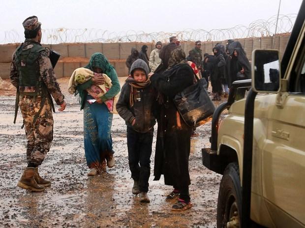 Gan 30.000 nguoi ti nan Syria tai Jordan da hoi huong hinh anh 1
