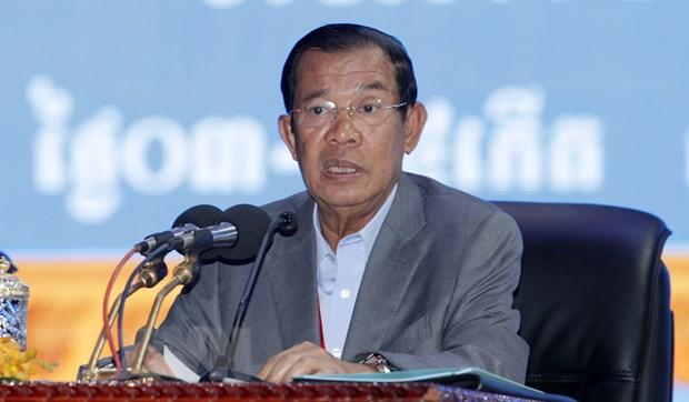 Thu tuong Vuong quoc Campuchia bat dau tham chinh thuc Viet Nam hinh anh 1