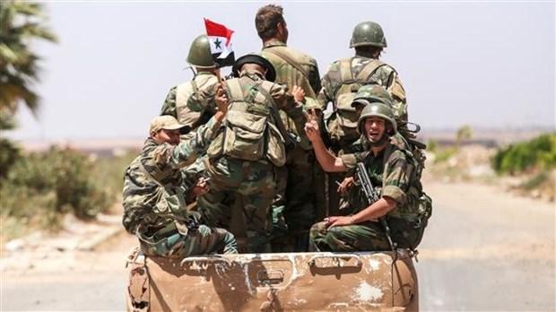 Syria cho phuc vien mot so linh nghia vu va quan du bi hinh anh 1