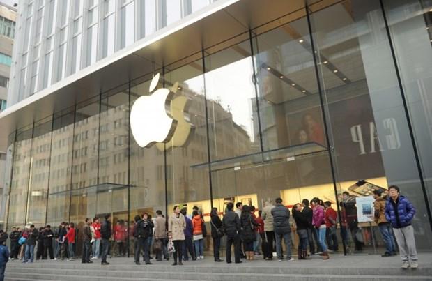 Apple dang phai tra gia vi