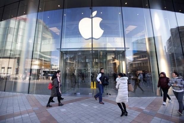 iPhone ban cham o Trung Quoc, Apple ha du bao doanh thu quy hinh anh 1