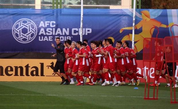 Doi tuyen Viet Nam chot danh sach cuoi cung du Asian Cup 2019 hinh anh 1