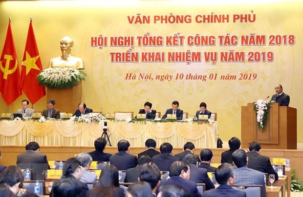 Thu tuong giao nhiem vu cho Van phong Chinh phu nam 2019 hinh anh 2