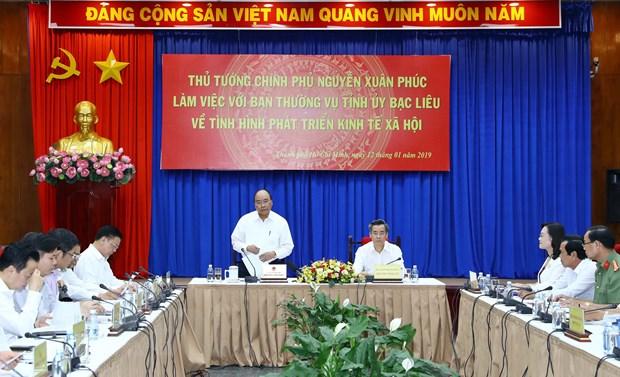 Thu tuong ung ho Bac Lieu trien khai du an dien khi
