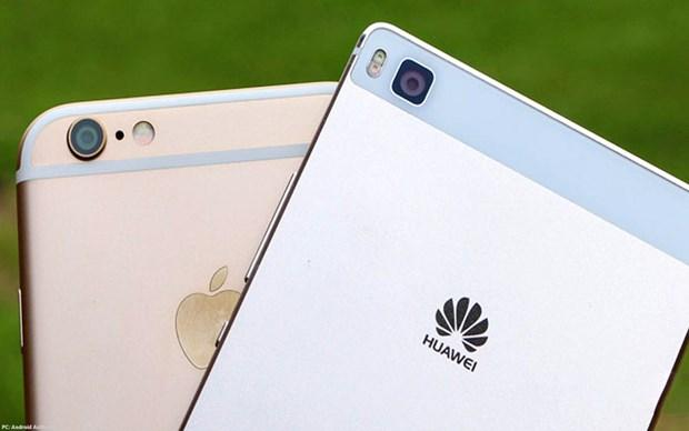Huawei se vuot Apple nho su suy giam cua thi truong smartphone? hinh anh 1