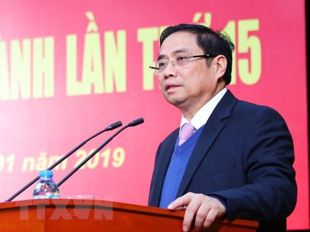 Hoi nghi Ban Chap hanh lan thu 15 Dang bo Khoi cac co quan Trung uong hinh anh 1