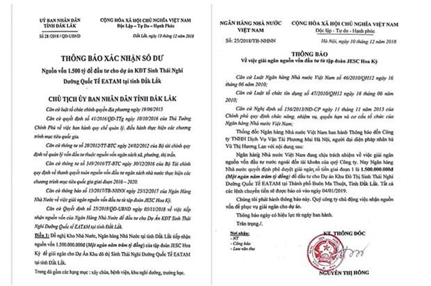 Dak Lak dieu tra gia mao van ban cua UBND tinh, Ngan hang Nha nuoc hinh anh 1