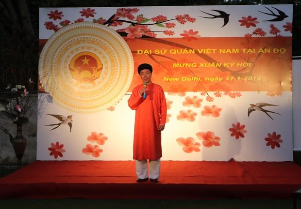 Ton vinh ban sac Viet trong ngay Tet cong dong tai An Do hinh anh 2