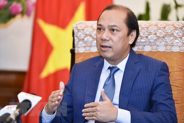 Dac phai vien Thu tuong tham Cong hoa Lien bang Myanmar hinh anh 1