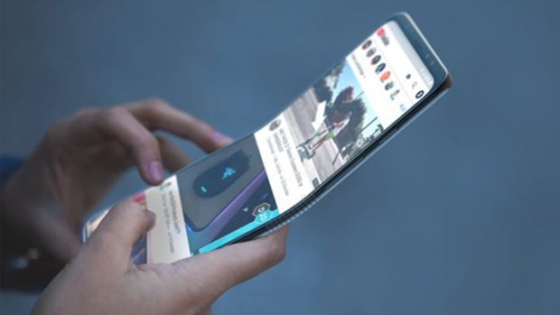 Huawei sap sua ra mat dien thoai man hinh gap chay mang 5G hinh anh 1