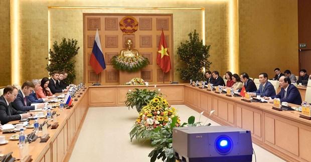 Nga ho tro Viet Nam xay dung Chinh phu dien tu, bao dam an ninh mang hinh anh 1