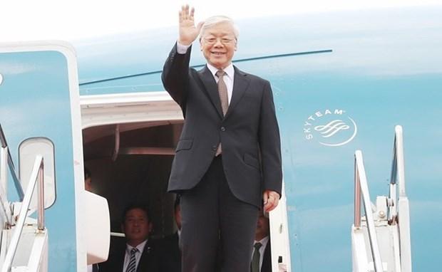Tong Bi thu, Chu tich nuoc Nguyen Phu Trong se tham Lao, Campuchia hinh anh 1