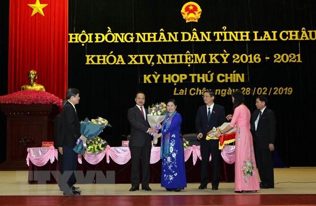 Ong Tran Tien Dung duoc bau lam Chu tich UBND tinh Lai Chau hinh anh 1