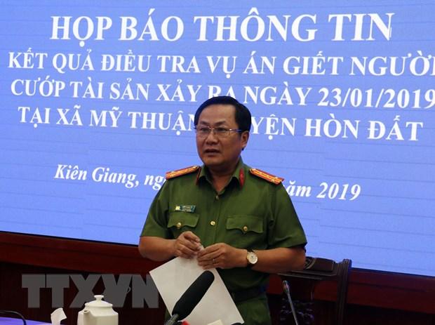 Kien Giang bat giu doi tuong gay ra vu trong an tai huyen Hon Dat hinh anh 2