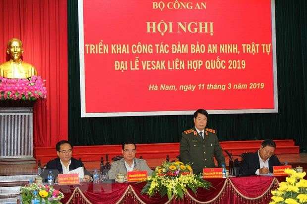 Dam bao tuyet doi an ninh, an toan cho Dai le Vesak Lien hop quoc 2019 hinh anh 1