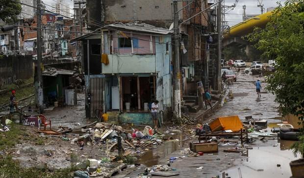 Brazil: Mua lu nghiem trong tai Sao Paulo khien nhieu nguoi thiet mang hinh anh 1