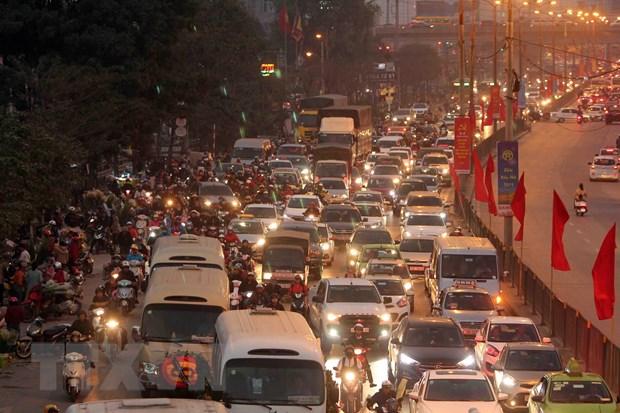 Cam xe may noi do Ha Noi nam 2030: Kho cung phai lam hinh anh 1