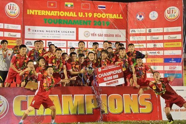 Thang Thai Lan, doi Viet Nam vo dich Giai bong da U19 Quoc te 2019 hinh anh 1