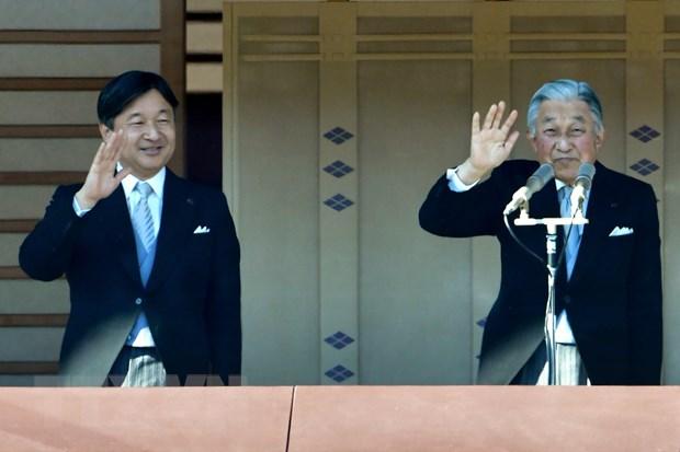Nhat Ban cong bo nien hieu moi truoc khi Nhat Hoang Akihito thoai vi hinh anh 1