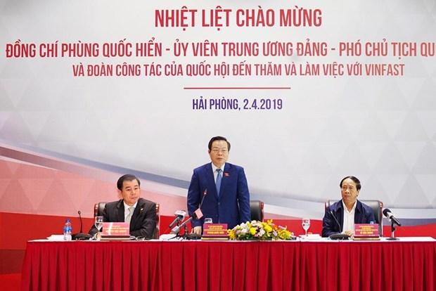 'VinFast phai la hat nhan thuc day cong nghiep Viet Nam phat trien' hinh anh 1