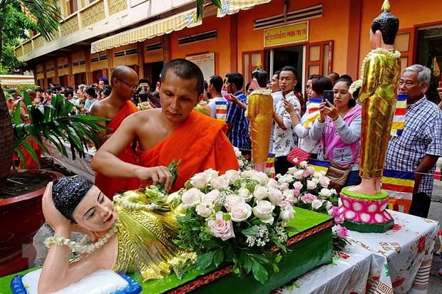 Thu tuong gui thu chuc mung Tet co truyen Chol Chnam Thmay hinh anh 1