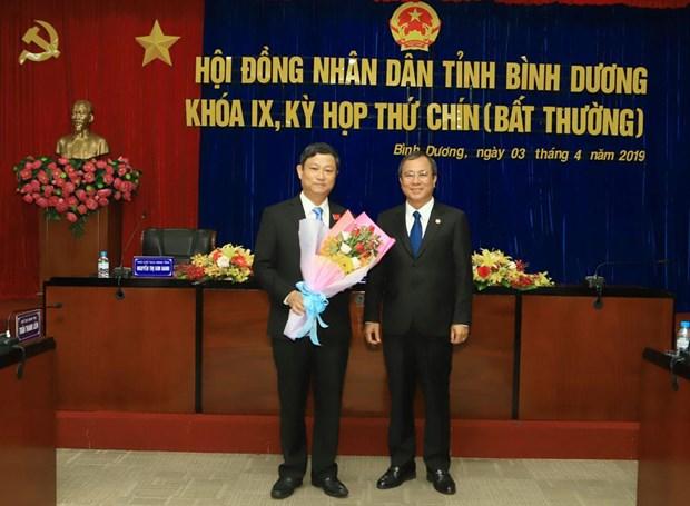 Ong Vo Van Minh duoc bau giu chuc Chu tich HDND tinh Binh Duong hinh anh 1