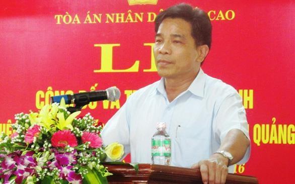 Ong Le Van Dung duoc bau lam Pho Bi thu Tinh uy Quang Nam hinh anh 1
