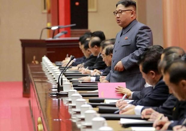 Ong Kim Jong-un goi tinh hinh hien tai la cang thang, keu goi tu luc hinh anh 1