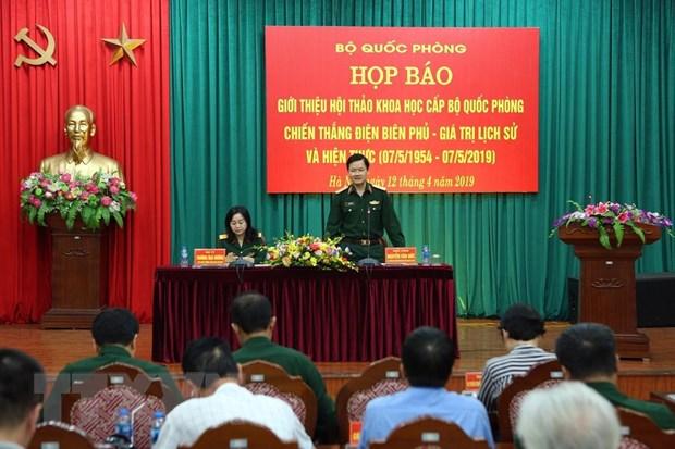 Hoi thao khoa hoc Chien thang Dien Bien Phu se duoc to chuc vao 25/4 hinh anh 1