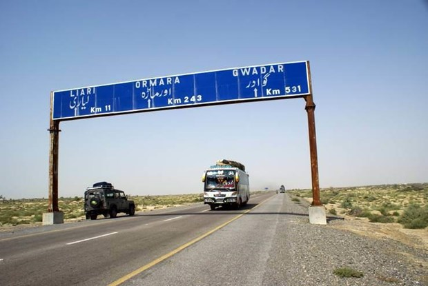 Tan cong xe buyt tai Tay Nam Pakistan, 14 nguoi thiet mang hinh anh 1